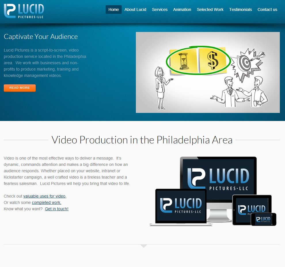 lucid pictures web