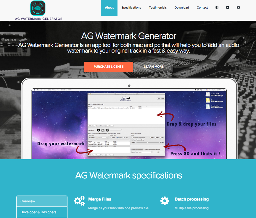 AG Watermarking Tool
